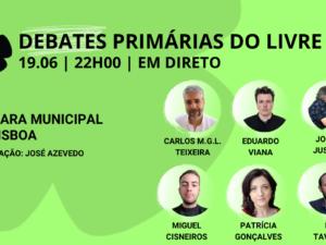 19 junho – Debate Primárias do LIVRE: Câmara Municipal de Lisboa