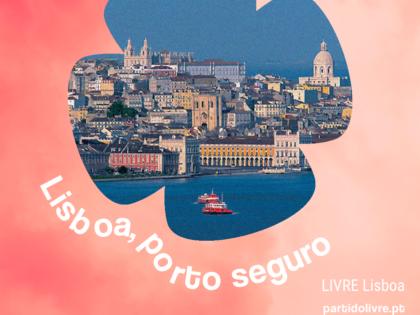 """LIVRE Lisboa exige de Medina """"medidas decisivas"""" de defesa dos Direitos Humanos"""