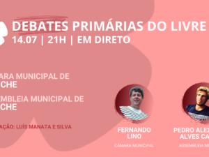 15 julho – Debate Primárias do LIVRE: Câmara Municipal e Assembleia Municipal de Peniche