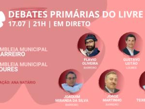 17 julho – Debate Primárias do LIVRE: Assembleia Municipal do Barreiro e Loures