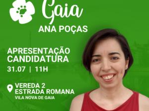 31 de julho – Apresentação Candidatura a Vila Nova de Gaia