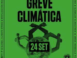 24 setembro – Greve Climática Estudantil