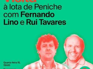 15 setembro – Candidato à Câmara de Peniche visita Lota da cidade