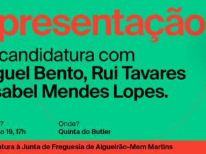 19 setembro – Apresentação de Candidatura em Sintra
