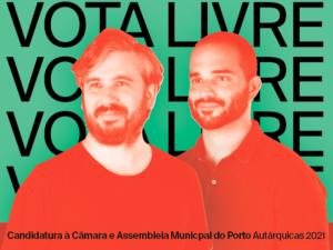 LIVRE Porto exige igual tratamento de candidaturas na campanha autárquica