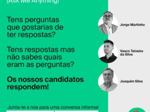 18 setembro – Ask Me Anything com os Candidatos ao Barreiro